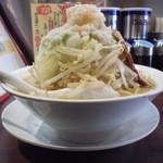 みちる屋 - みちるめん+野菜多め脂ビタ
