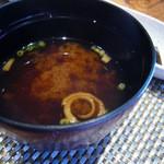 和菜や 幸 - 味噌汁