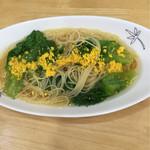 にんじん - 料理写真:にんじん風ペペロンチーノ