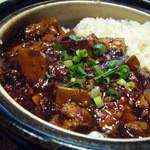 38976765 - 麻婆土鍋ご飯