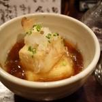 ちょっ古蔵  - 料理写真:2014年10月 二種類の豆腐の揚げ出し【480円】