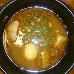 いつ樹 - 海老つけ麺スープ