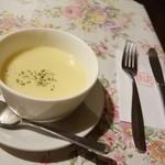 ポット - 2014年10月 Bセットのカップスープ