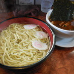 つけ麺目黒屋 - 温つけ麺大盛