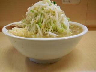 ラーメン二郎 京成大久保店 - 小ラーメン