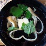 醐山料理 雨月茶屋 - 汁物