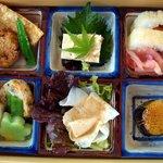 醐山料理 雨月茶屋 - 一段目