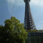 THE BUND - テラス席から見るマリンタワー