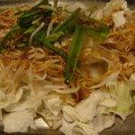丹虎 - 鉄板ホルモン焼 肉4種と野菜