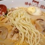 味千拉麺 - 2014年11月 阿蘇火山みそラーメンの麺の具合