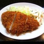 みのや - ロースとんかつ定食¥550
