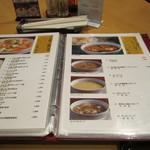 慶福楼 - メニュー5 左豆腐・野菜 右スープ・おこげ