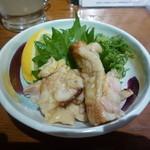 38986330 - 鶏皮ポン酢(¥380)