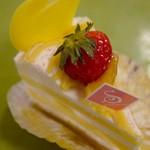 サントノーレ - 広島レモンのショートケーキ