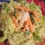 クイーンガーデン - さっぱりあっさりで美味しいサラダです。