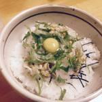 丼の芝楽 - いか納豆丼