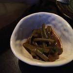 38988095 - ◯山クラゲの柚子胡椒和え                       シャキシャキ歯ごたえ最高。辛口好み仕様。