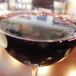 レストラン アクールジョア - ハウスグラスワイン赤