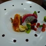 ルカ ジュナ - 【食いしん坊のデザート】(パスタコース 1680円)