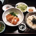 38990103 - 角煮丼うどんセット 1,000円