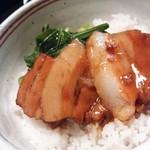 38990119 - 角煮丼のアップ