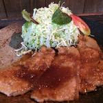 よし乃 - 生姜焼き定食 ¥880
