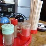 味楽 - 料理写真:(2015-6-13)テーブルセット