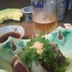 赤兎馬 - 鰹のタタキ