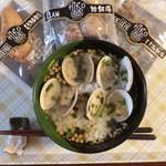 山年園 - 「蛤飯膳」(お茶漬け)一袋540円
