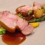 レストラン セビアン - 琉球豚のロースト