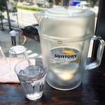刀削麺 張家 - お水はビールのピッチャー!(2015.6)