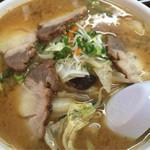 湯村食堂 - チャーシュー味噌ラーメン