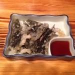 みの家 - 桜肉の磯辺揚げ