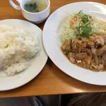 キッチン けとる - ポーク生姜 大盛り 900円