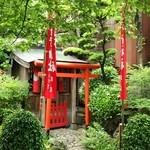 尾花 - 敷地内神社
