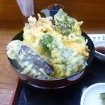 すぎ島 - 料理写真:ランチ天丼