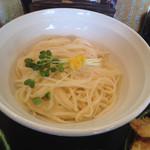弘庵 - コシのある細い手延べ麺