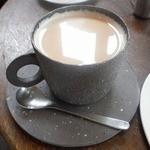 三月の豆cafe - カフェオレ¥550