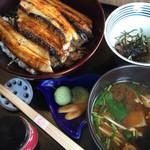 福 - 焼き穴子丼全景