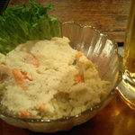 せっちゃん - ポテトサラダとビール
