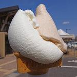 道の駅 裏磐梯 - 料理写真:ミルク&どんぐり