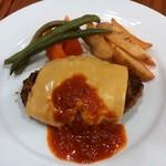 39000264 - Cランチのチーズハンバーグ 1,080円