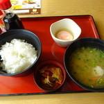 ジョイフル - 料理写真:豚汁朝食、422円