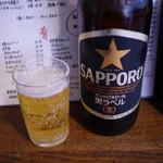 やきとり 上野文楽 - 大瓶~☆