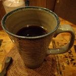 嘉多山珈琲 - ドリンク写真:ビアグラスのように大きい