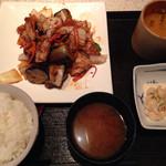 澄仙 - 日替わり:ナスの味噌炒め