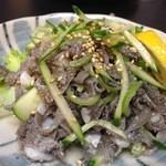 ミスター心 - 食べやすいセンマイ(⌒_⌒)