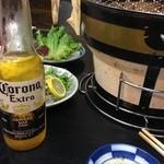 ミスター心 - コロナビール!シンビールなるビールの珈琲割(⌒_⌒)