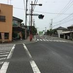 お菓子の店 石塚 - 豊水橋(人生らーめん)方面に向かって