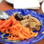 ピッツェリア・ダ・チールッツォ - ナポリ風野菜料理の盛り合わせ♪